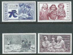 1982 SVEZIA VIVERE INSIEME MNH ** - P54-7