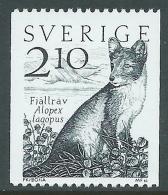 1983 SVEZIA FAUNA VOLPE POLARE MNH ** - P54-7