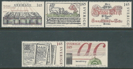 1983 SVEZIA STAMPE ARTISTICHE MNH ** - P54-7