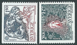 1981 SVEZIA EUROPA MNH ** - P54-9