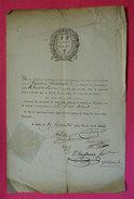 1792 Assemblee Nationale RARE Document Signatures Conventionnels Cambon Gamon Haussmann Borie (Louvet?)Vignette+ Sceau - Historical Documents