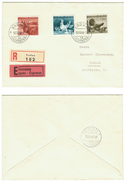 Liechtenstein // 1912-1950  // Lettre Recommandée-expres 1er Jour Pour Zurich