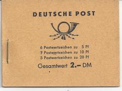 ALLEMAGNE ORIENTALE - N° Yvert - CARNET C317 - Neuf - LUXE - Markenheftchen