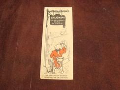 Marque Page Magasin GALIGNANI 224 Rue De Rivoli PARIS - Bookmarks