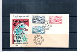 Expo 58 - Participation Du Maroc à L'exposition - Série Complète Sur FDC Maroc (à Voir)