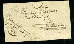 Précurseur De Puurs Pour Malines 1840 - 1830-1849 (Belgique Indépendante)