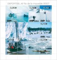 ESPAÑA 2007 - DEPORTES. Al Filo De Lo Imposible - Edifil Nº 4345 - 1931-Oggi: 2. Rep. - ... Juan Carlos I
