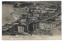 CPA - VIENNE, ETABLISSEMENT H. VIBERT TRUCHON & Cie, VUE EN AEROPLANE - Isère 38 - Vienne