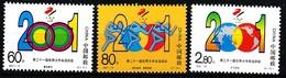 China, VR 2001 MiNr. 3268/ 3270  **/ Mnh  ;  21. Universade