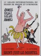Tignous - Festival Just Le Martel - Carte Postale 1993 - Cartes Postales