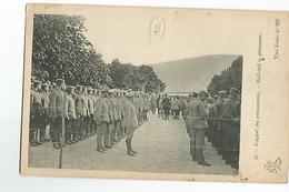 Militaire CPA L'Appel Des Prisonniers Animée - Personaggi