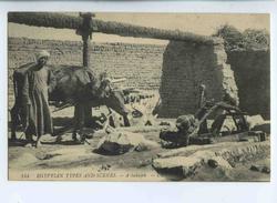 A 19420  -   Scènes Et Types D'Egypte  -  Un Sakiyé Pour L'Irrigation  -  A Sakujeh - Fermes