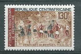 CENTRAFRICAINE -   Yvert  N° 101 **  PEINTURES RUPESTRES DE TOULOU