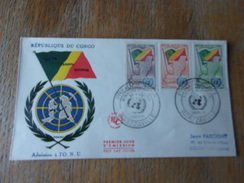 CONGO (1961) Admission A L' O.N.U. - Congo - Brazzaville