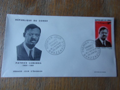 CONGO (1965) PATRICE LUMUMBA - Congo - Brazzaville