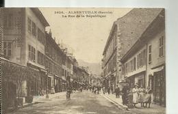 D73 - ALBERTVILLE  - 2CPA  - Rue De La REPUBLIQUE   Et L'HOTEL  MILLION - Albertville
