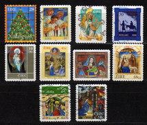 IRLAND 1997 - 2006 - Weihnachten, Christmas - 10 Werte