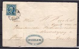 1858 Plaat III Haarlem-C Brandverzekering Mij. > Amsterdam (em20)