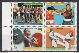 Dominican Republic 2016 Summer Olympic Games In Rio De Janeiro 4v MNH