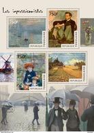 TOGO 2014 - Monet, Bazille, Renoir, Sisley, Caillebotte; CV = 17 €