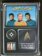 JEU DE CARTES   STAR TREK THE CARD GAME  1996         RULEBOOK  65 COLLECTIBLE PLAYING CARDS - Autres