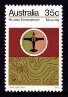 Australia 1973 National Development 35c Mapping MNH - 1966-79 Elizabeth II