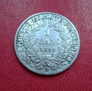 FRANCE 1 FRANC 1887 A CERES   N° 249 D - H. 1 Franco