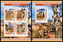 SOLOMON Isl. 2016 - Kangaroos. M/S + S/S