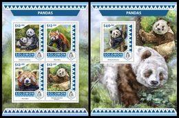 SOLOMON Isl. 2016 - Pandas. M/S + S/S