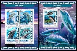 SOLOMON Isl. 2016 - Dolphins. M/S + S/S