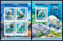 SOLOMON Isl. 2016 - Dugong. M/S + S/S