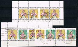 GERMANY-DDR - Sorbische Trachten 1723 - 1724 Aus Marken-Heft  5,  Seiten Gestempelt - 1320