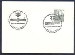 Austria Österreich 1966 Card: Athletics Athletik 2. Buben Olympiade Katolische Jungschar Österreichs