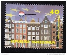 MACEDONIA, 2016, MICHEL 753 - MACEDONIA IN EUROPE - AMSTERDAM HOLLAND **