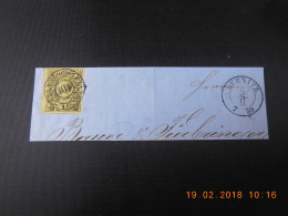 Michel No 11 On Piece Of Paper (Konig Johann I)