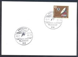 Germany Deutschland 1965 Card: Athletics Athletik Leichtathletik: Länderkampf USA - Germany