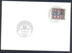 Germany Deutschland 1965 Card: Athletics Athletik Leichtathletik: Deutshce Jugend Meisterschaften; Sailing Boat
