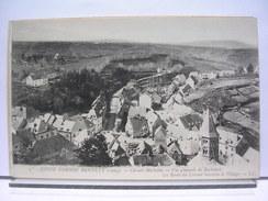 17 - COUPE GORDON BENETT (1905) - CIRCUIT MICHELIN - VUE GENERALE DE ROCHEFORT - LA ROUTE DU CIRCUIT TRAVERSE LE VILLAGE - Rochefort