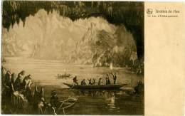 BELGIO  ROCHEFORT  GROTTES DE HAN-sur-LESSE  Le Lac D'Embarquement  Illustrée - Rochefort