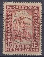Austria Occupation Of Bosnia 1918 Mi#143 Used - Usados