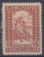Austria Occupation Of Bosnia 1918 Mi#143 Mint Hinged