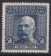 Austria Occupation Of Bosnia 1910 Mi#60 Mint Hinged