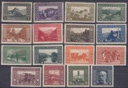 Austria Occupation Of Bosnia 1906 Mi#29-44 Mint Hinged