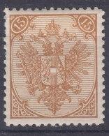 Austria Occupation Of Bosnia 1879 Mi#6 II (tipography Print Technique) Mint Hinged