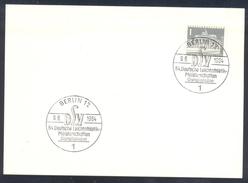 Germany Deutschland 1964 Card: Athletics Athletik Leichtathletik: DLV Deutsche Meisterschften Olympiastadion Berlin