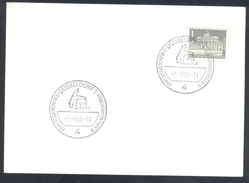 Germany Deutschland 1965 Card: Athletics Athletik Leichtathletik: Bundessportfest Bundesfest Düsseldorf