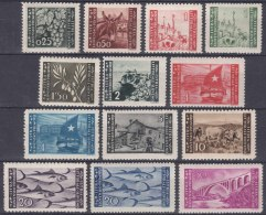Istria Litorale Yugoslavia Occupation, 1945/1946 Virtually Compl. Pictorial Issue (mixed From 2 Sets) Mint Never Hinged