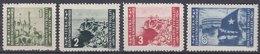 Istria Litorale Yugoslavia Occupation, 1946 Sassone#63-66 Complete Set, Mint Never Hinged