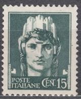 Italy 1929 Mi#302 X Sassone#246 Mint Hinged, Seems Like Inverted Watermark - 1900-44 Vittorio Emanuele III