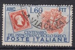 Italy Trieste Zone A AMG-FTT 1951 Sassone#132 Used - Trieste